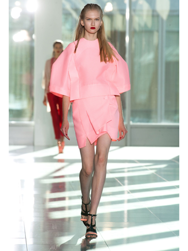 "<p><strong></strong>Following the sell out success of THAT pink M&S coat, it seems designers are still thinking pink for spring 2014 (like Antonio Berardi, see picture). So if you invest in a pink coat now, it will take you through this season and beyond. Brill!</p> <p><a href=""http://www.cosmopolitan.co.uk/fashion/news/first-look-cosmo-fashion-magazine"" target=""_blank"">FIRST LOOK: COSMO'S NEW FASHION MAGAZINE</a></p> <p><a href=""http://www.cosmopolitan.co.uk/fashion/winter-fashion-trends-2013/"" target=""_blank"">WEAR NOW: WINTER FASHION TRENDS 2013</a></p> <p><a href=""http://www.cosmopolitan.co.uk/fashion/news/"" target=""_blank"">GET THE LATEST FASHION AND STYLE NEWS</a></p>"