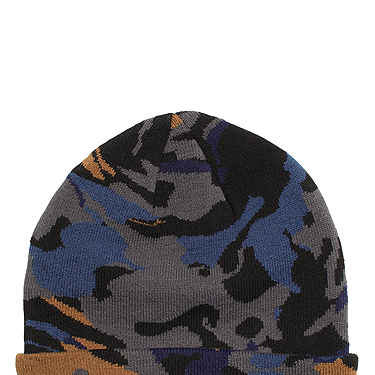 <p>Camo is the print to be seen in (or not seen) this season. Get a head start - literally, LOL! - with this brilliant beanie.</p>