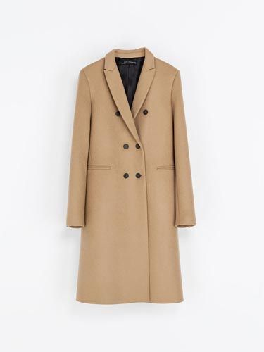 <p>The masculine cut of this coat would work perfectly with floaty, floral dresses for a transitional post-summer look. </p>