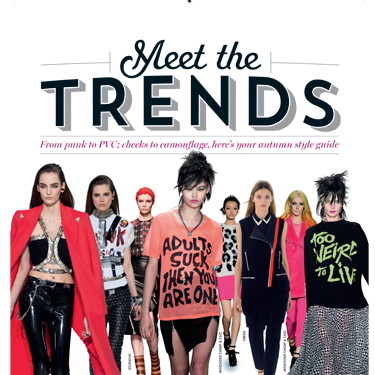 <p>Meet the winter trends for 2013. See the new season's biggest fashion stories, made simple.<strong><br /></strong></p>