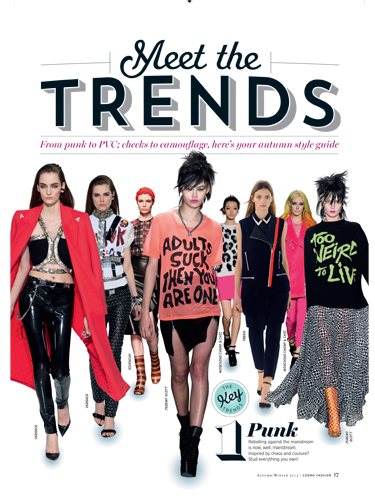 "<p>Meet the winter trends for 2013. See the new season's biggest fashion stories, made simple.<strong><br /></strong></p> <p><strong>Cosmopolitan FASHION is out NOW for £4.99, or get the digital version via <a href=""https://itunes.apple.com/us/app/cosmopolitan-uk/id461363572?mt=8"" target=""_blank"">itunes.apple.com</a>.</strong></p> <p><a href=""http://www.cosmopolitan.co.uk/fashion/news/cosmopolitan-fashion-issue-one"" target=""_blank"">INTRODUCING Cosmopolitan Fashion, issue one</a></p> <p><a href=""http://www.cosmopolitan.co.uk/fashion/winter-fashion-trends-2013/"" target=""_blank"">WEAR THE TREND: Winter Fashion trends for 2013 explained</a></p> <p><a href=""http://www.cosmopolitan.co.uk/beauty-hair/beauty-tips/how-to-do-ombre-denim-nails"" target=""_blank"">HOW TO: Copy the nails from Cosmopolitan Fashion</a></p>"