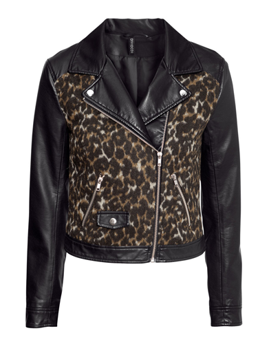 "<p>It's like your trusty biker jacket, only better. And more leopardy.</p> <p>Leopard biker jacket, £34.99, <a href=""http://www.hm.com/gb/product/17179?article=17179-A"" target=""_blank"">hm.com</a></p> <p><a href=""http://www.cosmopolitan.co.uk/fashion/shopping/the-fashion-fix-shop-bargain-buys"" target=""_blank"">SHOP DAILY FASHION FINDS FOR £10 OR LESS!</a></p> <p><a href=""http://www.cosmopolitan.co.uk/fashion/shopping/winter-fashion-trend-2013-checks"" target=""_blank"">WINTER FASHION TREND: PUNKY PIECES</a></p> <p><a href=""http://www.cosmopolitan.co.uk/fashion/news/"" target=""_blank"">SEE THE LATEST FASHION NEWS</a></p>"