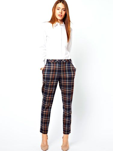 """<p>If you want your tartan to be more traditional toff than punk rocker, opt for a pared-down plaid in a palette of neutral tones. Pair with tweed and heeled loafers for an absolutely spiffing look.</p> <p>Tailored tartan torusers, £40, <a href=""""http://www.asos.com/ASOS/ASOS-Trousers-in-Check/Prod/pgeproduct.aspx?iid=3098268&sgid=6659&SearchQuery=check%20trousers&Rf-700=1000&sh=0&pge=0&pgesize=36&sort=-1&clr=Multi"""" target=""""_blank"""">asos.com</a></p> <p><a href=""""http://www.cosmopolitan.co.uk/fashion/shopping/winter-fashion-trend-2013-checks"""" target=""""_blank"""">How to wear the check trend this winter</a></p> <p><a href=""""http://www.cosmopolitan.co.uk/fashion/shopping/winter-fashion-trend-2013-punk"""" target=""""_blank"""">Punky pieces to shop right now</a></p> <p><a href=""""http://www.cosmopolitan.co.uk/fashion/news/"""" target=""""_blank"""">See the latest fashion and style news</a></p>"""