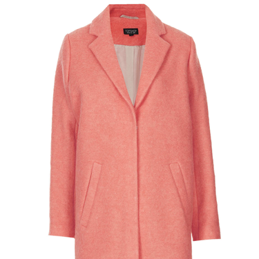 <p>This cool coat from Toppers has got it ALL going on, from the just-right colour to the perfect cut. WANT.</p>