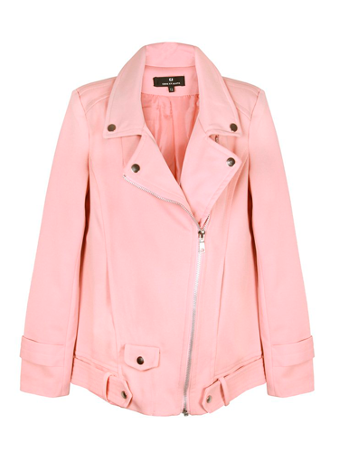 """<p>Jump on the rosy trend with PPB's lovely longline soft pink bker jacket. Team with slick leather pants and simple white shirt or add a bit of edge with some ripped baggy jeans and heels.</p> <p>Longline biker jacket, £59, <a href=""""http://www.pretaportobello.com/ppb/soft-pink-longline-bomber-jacket.aspx"""" target=""""_blank"""">pretaportobello.com</a></p> <p><a href=""""http://www.cosmopolitan.co.uk/fashion/shopping/the-fashion-fix-shop-bargain-buys"""" target=""""_blank"""">SHOP DAILY FASHION FOR £10 OR LESS!</a></p> <p><a href=""""http://www.cosmopolitan.co.uk/fashion/shopping/winter-fashion-trend-2013-checks"""" target=""""_blank"""">WINTER FASHION TREND: PUNKY PIECES</a></p> <p><a href=""""http://www.cosmopolitan.co.uk/fashion/news/"""" target=""""_blank"""">SEE THE LATEST FASHION NEWS</a></p>"""