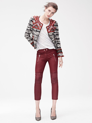 "<p>From the embellished tie-dye jacket and leather-look skinnies, we want this look. ALL OF IT.</p> <p>The Isabel Marant for H&M collection launches 14th November 2013 instore and online at <a href=""http://www.hm.com/gb/"" target=""_blank"">hm.com</a>.</p> <h3><strong>More fashion trends</strong></h3> <p class=""fb_frame_side_right_paragraph""><a href=""http://www.cosmopolitan.co.uk/fashion/shopping/pink-coat-winter-fashion-trends-2013"" target=""_blank"">SHOP: 10 of the best pink coats</a><br /><a href=""http://www.cosmopolitan.co.uk/fashion/shopping/"" target=""_blank"">Fashion: What to buy right now</a><br /><a href=""http://www.cosmopolitan.co.uk/beauty-hair/beauty-lab"" target=""_blank"">Hair and beauty reviews</a></p> <div style=""overflow: hidden; color: #000000; background-color: #ffffff; text-align: left; text-decoration: none;""> </div>"