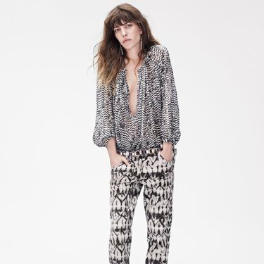 <p>Just when we thought Lou Doillon couldn't get any cooler (her mum is Jane Birkin, after all), we see her in the Isabel Marant for H&M lookbook looking all sorts of awesome.</p>