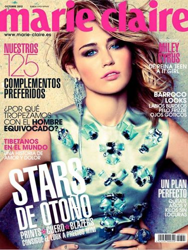"Is it just us or does Miley's Marie Claire September 2012 cover look like Jennifer Lawrence, before we even really knew who Jennifer Lawrence was? Miley was looking stunning with her beachy blonde hair, but little did we all know what was about to happen a few months later...<p><a href=""http://www.cosmopolitan.co.uk/celebs/entertainment/singers-crying-on-stage-video"" target=""_blank"">MILEY CRIES SINGING WRECKING BALL - WATCH</a></p> <p><a href=""http://www.cosmopolitan.co.uk/celebs/entertainment/miley-cyrus-rolling-stone-interview"" target=""_blank"">READ MILEY'S ROLLING STONE INTERVIEW</a></p>"