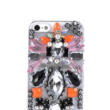 <p>Even if we can't afford a swanky new iPhone 5 just yet, we can pimp up our current handset with perspex and jewels. Yes!</p>