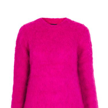 <p>Nod to the punk trend in pink with this feisty furry number from Toppers.</p>