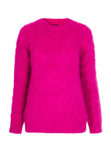 "<p>Nod to the punk trend in pink with this feisty furry number from Toppers.</p> <p>Hot pink jumper, £50, <a href=""http://www.topshop.com/webapp/wcs/stores/servlet/ProductDisplay?searchTerm=knitted+funnel+jumper&storeId=12556&productId=12252012&urlRequestType=Base&categoryId=&langId=-1&productIdentifier=product&catalogId=33057"" target=""_blank"">topshop.com</a></p> <p><a href=""http://www.cosmopolitan.co.uk/fashion/shopping/the-fashion-fix-shop-bargain-buys"" target=""_blank"">SHOP DAILY FASHION FINDS FOR £10 OR LESS!</a></p> <p><a href=""http://www.cosmopolitan.co.uk/fashion/shopping/shop-payday-fashion-treats"" target=""_blank"">WHAT TO BUY ON PAYDAY</a></p> <p><a href=""http://www.cosmopolitan.co.uk/fashion/news/"" target=""_blank"">SEE THE LATEST FASHION NEWS</a></p>"