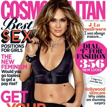 """<p>Showing off her toned tummy and enviable body, <a href=""""http://www.cosmopolitan.co.uk/celebs/celebrity-gossip/taylor-swift-jennifer-lopez-duet"""" target=""""_blank"""">JLo</a> is back and better than ever as our November cover star!</p><p>Revealing all about the rise of her stardom, becoming a mother and being a worldwide icon, we see Jennifer's softer side as she confesses that her insecurities were a major part of her life.</p>"""