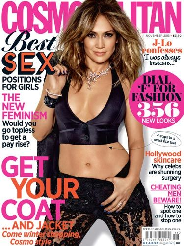 "<p>Showing off her toned tummy and enviable body, <a href=""http://www.cosmopolitan.co.uk/celebs/celebrity-gossip/taylor-swift-jennifer-lopez-duet"" target=""_blank"">JLo</a> is back and better than ever as our November cover star!</p> <p>Revealing all about the rise of her stardom, becoming a mother and being a worldwide icon, we see Jennifer's softer side as she confesses that her insecurities were a major part of her life.</p>"