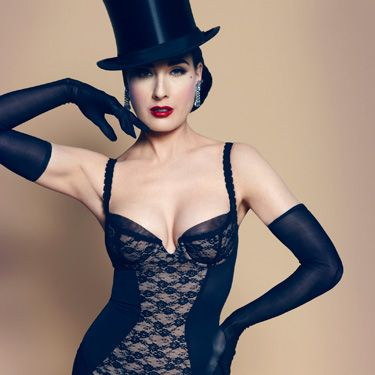<p>Practise the art of Black Magic in this seriously seductive corset.</p>