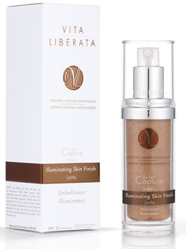 """<p><strong>They say:</strong> Capture the Light Opaque Latte Light gives a soft focus, flawless iridescent finish to the skin with SPF 25. It offers perfect coverage and a light capturing finish.<br /><br /><strong>We say:</strong> I've got about six glow-potions on the go at any one time (I love a glow, me), but this one has shot straight to the top of my chart (or hit-parade, as I still call it). It gives my face a subtle latte tint, but, most of all, a pure gold sheen – not like a mad gold glitterball, but like vintage J-Lo. Basically, it leaves skin looking super-pretty, and kind of professionally lit. Can be mixed with moisturiser (my preferred option) or foundation, or simply rubbed straight onto your face – or you can use it to highlight your cheekbones and various other bits of your face. There are lighter and darker versions too, so there will be one that's perfect for your skin tone.<br /><br /><strong>Best for:</strong> Dull skin with a light tan<br /> <br />£29.95, <a href=""""http://vitaliberata.co.uk/"""" target=""""_blank"""">vitaliberata.co.uk</a></p><p><a href=""""http://www.cosmopolitan.co.uk/beauty-hair/beauty-lab"""" target=""""_blank"""">THE COSMO BEAUTY LAB</a></p><p><a href=""""http://www.cosmopolitan.co.uk/beauty-hair/beauty-tips/date-makeup-hair-tips"""" target=""""_blank"""">TEN BEAUTY TIPS FOR A DATE </a></p><p><a href=""""http://www.cosmopolitan.co.uk/beauty-hair/beauty-tips/100-mascaras-tested-on-one-eye-results"""" target=""""_blank"""">100 MASCARAS ON ONE EYE</a></p>"""