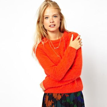 """<p>Stand out from the crowd in a cool colour-popping knit.</p><p>Premium angora jumper, £50, <a href=""""http://www.asos.com/ASOS/ASOS-Premium-Ultimate-Angora-Jumper/Prod/pgeproduct.aspx?iid=3058624&cid=13493&sh=0&pge=0&pgesize=36&sort=-1&clr=Orange"""" target=""""_blank"""">asos.com</a></p><p><a href=""""http://www.cosmopolitan.co.uk/fashion/shopping/what-to-wear-this-week-30-september-2013"""" target=""""_blank"""">SHOP: WHAT TO WEAR THIS WEEK</a></p><p><a href=""""http://www.cosmopolitan.co.uk/fashion/shopping/womens-clothing-under-ten-pounds"""" target=""""_blank"""">FASHION FINDS FOR £10 OR LESS</a></p><p><a href=""""http://www.cosmopolitan.co.uk/fashion/news/"""" target=""""_blank"""">GET THE LATEST FASHION NEWS</a></p><p> </p>"""
