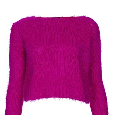 """<p>Punk things up in pink. Nod to 80s Debbie Harry and wear with a leather mini skirt, a swipe of red lippy and a whole lotta 'tood.</p><p>Pink cropped fluffy jumper, £34, <a href=""""http://www.topshop.com/en/tsuk/product/clothing-427/knitwear-444/knitted-fluffy-crop-jumper-2329222?bi=1&ps=20"""" target=""""_blank"""">topshop.com</a></p><p> </p>"""