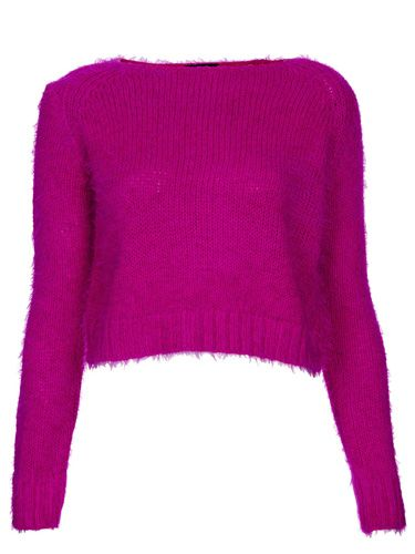 "<p>Punk things up in pink. Nod to 80s Debbie Harry and wear with a leather mini skirt, a swipe of red lippy and a whole lotta 'tood.</p> <p>Pink cropped fluffy jumper, £34, <a href=""http://www.topshop.com/en/tsuk/product/clothing-427/knitwear-444/knitted-fluffy-crop-jumper-2329222?bi=1&ps=20"" target=""_blank"">topshop.com</a></p> <p> </p>"