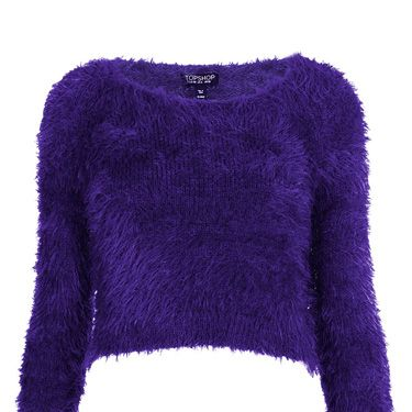 """<p>We've already told you that <a href=""""http://www.cosmopolitan.co.uk/fashion/shopping/fluffy-jumpers-winter-fashion-trend"""" target=""""_blank"""">fluffy jumpers are officially A Thing for winter 2013</a> - and this style is particulalrly Sulley-from-Monsters-Inc-esque.</p><p>Cropped fluffy jumper, £36, <a href=""""http://www.topshop.com/en/tsuk/product/new-in-this-week-2169932/new-in-this-week-493/knitted-fluffy-crop-jumper-2322526?bi=1&ps=200"""" target=""""_blank"""">topshop.com</a></p><p><a href=""""http://www.cosmopolitan.co.uk/fashion/shopping/the-fashion-fix-shop-bargain-buys"""" target=""""_blank"""">SHOP DAILY FASHION FINDS FOR £10 OR LESS!</a></p><p><a href=""""http://www.cosmopolitan.co.uk/fashion/shopping/shop-payday-fashion-treats"""" target=""""_blank"""">WHAT TO BUY ON PAYDAY</a></p><p><a href=""""http://www.cosmopolitan.co.uk/fashion/news/"""" target=""""_blank"""">SEE THE LATEST FASHION NEWS</a></p>"""