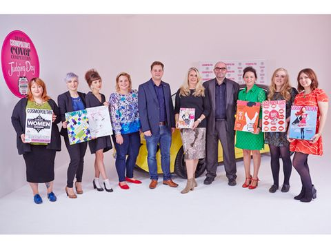 <p>After hours sifting through more than 100 applications of our first-ever Design Cosmo's Cover competition – inspired by Vauxhall ADAM – we narrowed it down to six truly amazing designs, and six amazing finalists behind them... Meet them now!</p>