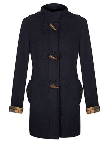"<p>Make like <a href=""http://cosmopolitan.co.uk/fashion/news/alexa-ching-simple-style"" target=""_blank"">Alexa Chung</a> and cover-up with a classic duffle coat style in <a href=""http://www.cosmopolitan.co.uk/fashion/shopping/navy-winter-fashion-trend-2013"" target=""_blank"">super chic navy</a>. The checked lining is bang-on-trend, too.</p> <p>Bonded duffle coat, £30, <a href=""http://direct.asda.com/george/womens-coats-jackets/bonded-duffle-coat/G004242475,default,pd.html"" target=""_blank"">asda.com</a></p> <p><a href=""http://www.cosmopolitan.co.uk/fashion/shopping/pink-coat-winter-fashion-trends-2013"" target=""_blank"">SHOP: THE BEST PINK WINTER COATS</a></p> <p><a href=""http://www.cosmopolitan.co.uk/fashion/shopping/what-to-wear-to-winter-wedding"" target=""_blank"">WHAT TO WEAR TO A WINTER WEDDING</a></p> <p><a href=""http://www.cosmopolitan.co.uk/fashion/winter-fashion-trends-2013/"" target=""_blank"">SEE THE LATEST WINTER FASHION TRENDS 2013</a></p>"