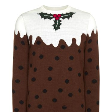 """<p>If you eat too much over the festive period, just slip on this Christmas pudding jumper and say your rounded tum is just part of the design.</p><p>Christmas jumper, £12, Primark</p><p><a href=""""http://www.cosmopolitan.co.uk/fashion/shopping/primark-winter-2013-fashion-trends"""" target=""""_blank"""">SEE Primark's fab winter trends 2013 collection</a></p><p><a href=""""http://www.cosmopolitan.co.uk/fashion/shopping/fluffy-jumpers-winter-fashion-trend"""" target=""""_blank"""">SHOP 5 of the best fluffy jumpers</a></p><p><a href=""""http://www.cosmopolitan.co.uk/fashion/news/"""" target=""""_blank"""">SEE the latest fashion and style news</a></p>"""