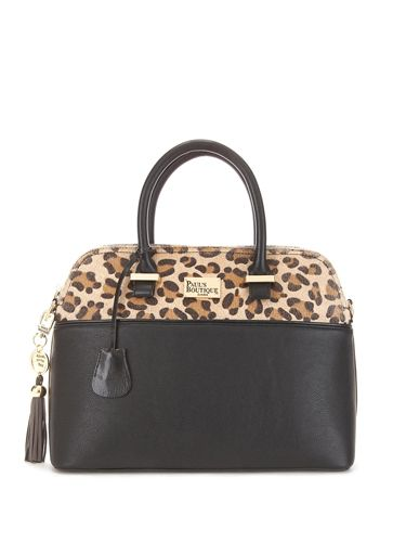 P This Structured Handbag Is A Bit Of Beaut Ticking The Animal Paul S Boutique