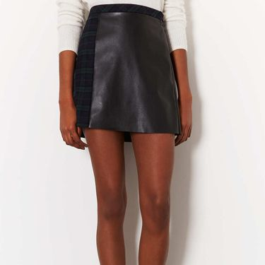 """<p>This season is all about leather minis and tartan skirts - and what better way to marry these two trends than in this hybrid tartan-leather skirt from Topshop. With a leather front and tartan back, this a-line and high-waisted skirt would look great with a cream polo-neck and some sky-high shoe boots.</p><p>Check a-line skirt, £42, <a href=""""http://www.topshop.com/en/tsuk/product/new-in-this-week-2169932/new-in-this-week-493/check-a-line-skirt-2327584?bi=1&ps=200"""" target=""""_blank"""">Topshop</a></p><p><a href=""""http://www.cosmopolitan.co.uk/fashion/shopping/pauls-boutique-bags-winter-2013?page=1"""" target=""""_blank"""">TEN NEW HANDBAGS FOR A/W13</a></p><p><a href=""""http://www.cosmopolitan.co.uk/fashion/news/m-and-s-best-of-british-fashion"""" target=""""_blank"""">M&S LAUNCHES BEST OF BRITISH COLLECTION</a></p><p><a href=""""http://www.cosmopolitan.co.uk/fashion/shopping/womens-clothing-under-ten-pounds"""" target=""""_blank"""">THE PERFECT WHITE SHIRT FOR A TENNER</a></p>"""