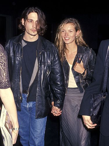 <p>One of the couple's first public appearances - in matching leather jackets, no less - was in LA for Johnny's directorial debut, Banter, in 1994.</p>