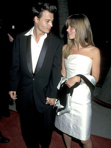 <p>Johnny may have starred as a ladies man in his 1995 rom-com Don Juan DeMarco, but he only had eyes for Kate on the film's Beverly Hills red carpet.</p>