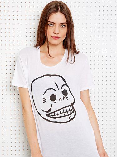 Cheap monday skull dress watch