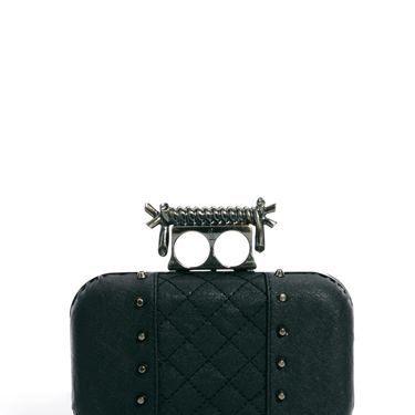 """<p>This little devil of a clutch bag is the perfect Halloween accessory with its barbed wire fastener and studded embelishment.</p><p>Barbed wire quilted box clutch, £55, Religion at <a href=""""http://www.asos.com/Religion/Religion-Barbed-Wire-Quilted-Box-Clutch-Bag/Prod/pgeproduct.aspx?iid=3397319&cid=16280&sh=0&pge=0&pgesize=36&sort=-1&clr=Black"""" target=""""_blank"""">ASOS </a></p><p><a href=""""http://www.cosmopolitan.co.uk/fashion/shopping/new-in-store-14-oct?page=1"""" target=""""_blank"""">NEW IN STORE THIS WEEK</a></p><p><a href=""""http://www.cosmopolitan.co.uk/fashion/shopping/pauls-boutique-bags-winter-2013?page=1"""" target=""""_blank"""">TEN NEW HANDBAGS FOR A/W13</a></p><p><a href=""""http://www.cosmopolitan.co.uk/fashion/news/m-and-s-best-of-british-fashion"""" target=""""_blank"""">M&S LAUNCHES BEST OF BRITISH COLLECTION</a></p>"""