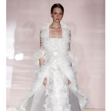 """<p>Maybe good for a winter wedding? Somewhere snowy? On a sleigh? </p><p><a href=""""http://www.cosmopolitan.co.uk/fashion/shopping/halloween-outfits"""" target=""""_blank"""">EFFORTLESS HALLOWEEN OUTFITS</a></p><p><a href=""""http://www.cosmopolitan.co.uk/fashion/shopping/new-in-store-14-oct?page=1"""" target=""""_blank"""">NEW IN STORE THIS WEEK</a></p><p><a href=""""http://www.cosmopolitan.co.uk/fashion/shopping/pauls-boutique-bags-winter-2013?page=1"""" target=""""_blank"""">TEN NEW HANDBAGS FOR A/W13</a></p>"""