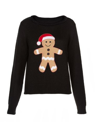 "<p>We could literally eat this little gingerbread up, right now.</p> <p>Christmas jumper, £24.99, New Look</p> <p><a href=""http://www.cosmopolitan.co.uk/fashion/shopping/christmas-jumpers-2013-primark-womens"" target=""_blank"">PRIMARK'S CHRISTMAS JUMPERS ARE OUT</a></p> <p><a href=""http://www.cosmopolitan.co.uk/fashion/shopping/halloween-outfits"" target=""_blank"">EFFORTLESS HALLOWEEN OUTFITS FROM THE HIGH STREET</a></p> <p><a href=""http://www.cosmopolitan.co.uk/fashion/shopping/celebrity-winter-coat-inspiration"" target=""_blank"">CELEBRITY WINTER COAT INSPIRATION</a></p>"