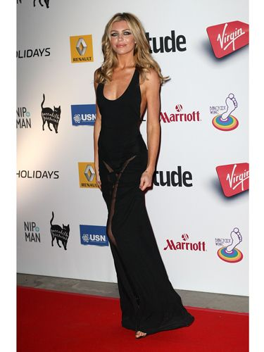 "<p>Britain's Next Top Model winner and ultimate WAG Abbey Clancy looked every bit glamourous in a simple black maxi dress with a sexy sheer panel at the front, showing off her enviable long pins.</p> <p><a href=""http://www.cosmopolitan.co.uk/fashion/celebrity/behind-the-scenes-cara-delevingne-dkny-shoot"" target=""_blank"">BEHIND THE SCENES OF CARA'S DKNY CAMPAIGN</a></p> <p><a href=""http://www.cosmopolitan.co.uk/fashion/news/kate-moss-vogue-editor"" target=""_blank"">KATE MOSS FOR BRITISH VOGUE</a></p> <p><a href=""http://www.cosmopolitan.co.uk/fashion/news/vanessa-hudgens-miranda-kerr-fashion-hearst"" target=""_blank""> VANESSA HUDGENS GETS HER FASHION ON FOR HEARST</a></p>"