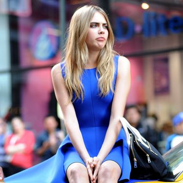 """<p>Her 'pouty princess' look.</p><p><a href=""""http://www.cosmopolitan.co.uk/fashion/celebrity/behind-the-scenes-cara-delevingne-dkny-shoot"""" target=""""_blank"""">BEHIND THE SCENES OF CARA'S DKNY CAMPAIGN SHOOT</a></p><p><a href=""""http://www.cosmopolitan.co.uk/fashion/news/cara-delevingne-london-fashion-week-style-so-far?page=1"""" target=""""_blank"""">CARA DELEVINGNE'S LONDON FASHION WEEK STYLE</a></p><p><a href=""""http://www.cosmopolitan.co.uk/celebs/celebrity-gossip/cara-delevingne-model-agency-tattoo-xii?click=main_sr"""" target=""""_blank"""">CARA FLASHES NEW TATS </a></p>"""