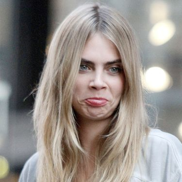 """<p>Why the long face, Cara? </p><p><a href=""""http://www.cosmopolitan.co.uk/fashion/celebrity/behind-the-scenes-cara-delevingne-dkny-shoot"""" target=""""_blank"""">BEHIND THE SCENES OF CARA'S DKNY CAMPAIGN SHOOT</a></p><p><a href=""""http://www.cosmopolitan.co.uk/fashion/news/cara-delevingne-london-fashion-week-style-so-far?page=1"""" target=""""_blank"""">CARA DELEVINGNE'S LONDON FASHION WEEK STYLE</a></p><p><a href=""""http://www.cosmopolitan.co.uk/celebs/celebrity-gossip/cara-delevingne-model-agency-tattoo-xii?click=main_sr"""" target=""""_blank"""">CARA FLASHES NEW TATS </a></p>"""