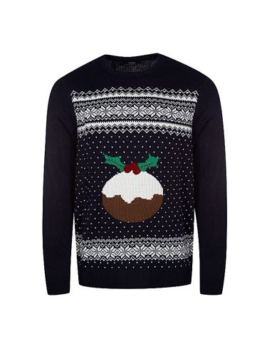 "<p>That pud looks good enough to eat..</p> <p>Christmas jumper, £12, <a href=""http://direct.asda.com/george/mens-knitwear/christmas-pudding-jumper/G004318297,default,pd.html"" target=""_blank"">Asda</a></p> <p><a href=""http://www.cosmopolitan.co.uk/fashion/shopping/christmas-jumpers-2013-primark-womens"" target=""_blank"">PRIMARK'S CHRISTMAS JUMPERS ARE OUT</a></p> <p><a href=""http://www.cosmopolitan.co.uk/fashion/shopping/christmas-jumpers"" target=""_blank"">NEW LOOK'S SNAZZY SEASONAL CHRISTMAS JUMPERS</a></p> <p><a href=""http://www.cosmopolitan.co.uk/fashion/shopping/celebrity-winter-coat-inspiration"" target=""_blank"">CELEBRITY WINTER COAT INSPIRATION</a></p>"