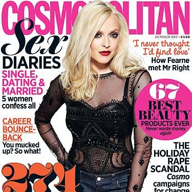 <p>Fearne Cotton made a welcome return to the mag for the October 2013 issue.</p>