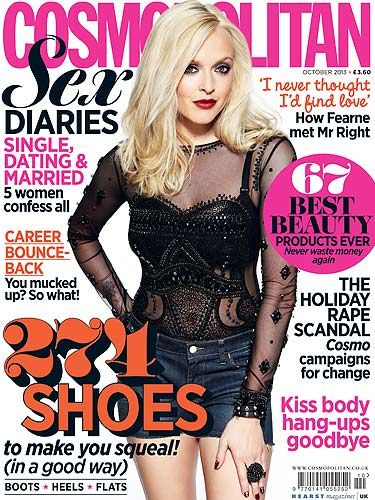 "<p>Fearne Cotton made a welcome return to the mag for the October 2013 issue.</p> <p>Buy this issue as a Digital Edition NOW from;<br /><br /><a href=""https://itunes.apple.com/gb/app/cosmopolitan-uk/id461363572?mt=8%20&affId=1503186%20"" target=""_blank"">Apple</a><br /><br /><a href=""http://www.amazon.co.uk/gp/product/B00AAZXB9M"" target=""_blank"">Amazon – Kindle Fire</a><br /><br /><a href=""https://play.google.com/store/magazines/details/Cosmopolitan_UK?id=CAow8MiDAg&hl=en_GB%20"" target=""_blank"">Google Play</a><br /><br /><a href=""http://gb.zinio.com/www/browse/back-issues.jsp?&prnt=&productId=89169471&offer=&categoryId"" target=""_blank"">Zinio</a></p>"