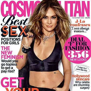 <p>Jennifer Lopez and her amazing abs graced our November 2013 issue.</p>