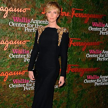 """<p>Charlize Theron looked positively stunning in an embellished Salvatore Ferragamo gown at the Annenberg Center for the Performing Arts Gala in LA. And her new face-framing fringe? Gorgeous.</p><p><a href=""""http://www.cosmopolitan.co.uk/fashion/love/"""" target=""""_blank"""">VOTE ON CELEBRITY STYLE</a></p><p><a href=""""http://www.cosmopolitan.co.uk/fashion/shopping/new-in-store-14-oct"""" target=""""_blank"""">SHOP THIS WEEK'S BEST BUYS</a></p><p><a href=""""http://www.cosmopolitan.co.uk/fashion/celebrity/"""" target=""""_blank""""> SEE THE LATEST CELEBRITY TRENDS</a></p>"""