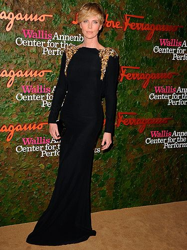 "<p>Charlize Theron looked positively stunning in an embellished Salvatore Ferragamo gown at the Annenberg Center for the Performing Arts Gala in LA. And her new face-framing fringe? Gorgeous.</p> <p><a href=""http://www.cosmopolitan.co.uk/fashion/love/"" target=""_blank"">VOTE ON CELEBRITY STYLE</a></p> <p><a href=""http://www.cosmopolitan.co.uk/fashion/shopping/new-in-store-14-oct"" target=""_blank"">SHOP THIS WEEK'S BEST BUYS</a></p> <p><a href=""http://www.cosmopolitan.co.uk/fashion/celebrity/"" target=""_blank""> SEE THE LATEST CELEBRITY TRENDS</a></p>"