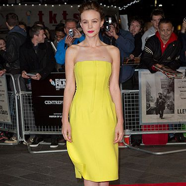 """<p>Carey Mulligan brightened up our Tuesday when she walked the red carpet for her new film Inside Llewyn Davis in this bold yellow Dior frock. Beyond chic.</p><p><a href=""""http://www.cosmopolitan.co.uk/fashion/love/"""" target=""""_blank"""">VOTE ON CELEBRITY STYLE</a></p><p><a href=""""http://www.cosmopolitan.co.uk/fashion/shopping/new-in-store-14-oct"""" target=""""_blank"""">SHOP THIS WEEK'S BEST BUYS</a></p><p><a href=""""http://www.cosmopolitan.co.uk/fashion/celebrity/"""" target=""""_blank""""> SEE THE LATEST CELEBRITY TRENDS</a></p>"""