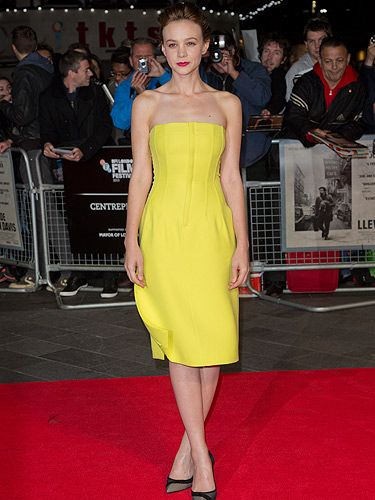 "<p>Carey Mulligan brightened up our Tuesday when she walked the red carpet for her new film Inside Llewyn Davis in this bold yellow Dior frock. Beyond chic.</p> <p><a href=""http://www.cosmopolitan.co.uk/fashion/love/"" target=""_blank"">VOTE ON CELEBRITY STYLE</a></p> <p><a href=""http://www.cosmopolitan.co.uk/fashion/shopping/new-in-store-14-oct"" target=""_blank"">SHOP THIS WEEK'S BEST BUYS</a></p> <p><a href=""http://www.cosmopolitan.co.uk/fashion/celebrity/"" target=""_blank""> SEE THE LATEST CELEBRITY TRENDS</a></p>"