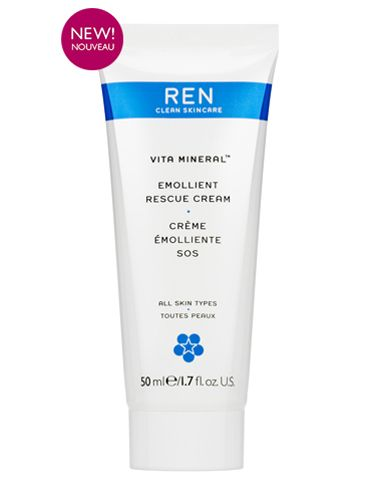 """<p>Ren prides itself on 'clean skincare' so you won't find any unnatural or enhanced fragrances in their products, which is ideal for winter-cracked skin, as fragrance can often be the cause of further irritation. Their emollient Rescue Cream provides instant relief from environmental stress, such as UV, cold, wind, dryness and even pollution.</p> <p>Vita Mineral Emollient Rescue Cream, £19, Ren at <a href=""""http://www.marksandspencer.com/REN-Mineral-Emollient-Rescue-Cream/dp/B0026O72WC"""" target=""""_blank"""">marksandspencer.com</a></p> <p><a href=""""http://www.cosmopolitan.co.uk/beauty-hair/news/trends/beauty-products/skincare-products-for-the-winter-weather?click=main_sr#fbIndex1"""" target=""""_blank"""">BEST SKINCARE PRODUCTS FOR WINTER</a></p> <p><a href=""""http://www.cosmopolitan.co.uk/diet-fitness/fitness/miranda-kerr-morning-routine-instagram?click=main_sr"""" target=""""_blank"""">MIRANDA KERR'S SKINCARE ROUTINE</a></p> <p><a href=""""http://www.cosmopolitan.co.uk/beauty-hair/news/trends/celebrity-skincare-and-beauty-secrets?click=main_sr#fbIndex1"""" target=""""_blank""""> CELEBRITY SKINCARE SECRETS</a><br /><br /></p>"""