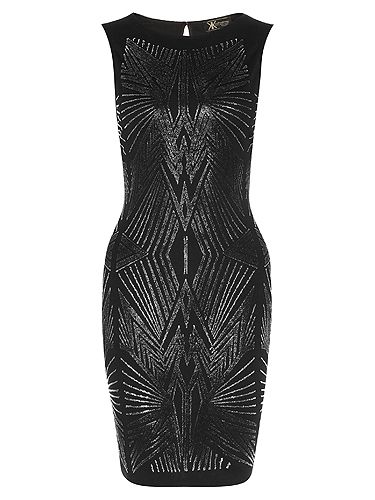 "<p>Tribal caviar dress, £55</p> <p><a href=""http://www.cosmopolitan.co.uk/beauty-hair/news/beauty-news/kardashian-sisters-launch-debut-makeup-collection-khroma-beauty-boldface"" target=""_blank"">KARDASHIAN BEAUTY LINE LAUNCHES IN THE UK</a></p> <p><a href=""http://www.cosmopolitan.co.uk/celebs/celebrity-gossip/kanye-west-kim-kardashian-selfie"" target=""_blank"">KIM KARDASHIAN'S BOOTYLICIOUS POST-BABY SELFIE</a></p> <p><a href=""http://www.cosmopolitan.co.uk/beauty-hair/news/trends/celebrity-beauty/kardashains-beauty-and-body-secret-organic-coconut-oil"" target=""_blank"">THE KARDASHIAN SHARES BEAUTY TIPS</a></p>"