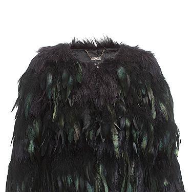 "<p>Crop feather coat, £150 </p><p><a href=""http://www.cosmopolitan.co.uk/beauty-hair/news/beauty-news/kardashian-sisters-launch-debut-makeup-collection-khroma-beauty-boldface"" target=""_blank"">KARDASHIAN BEAUTY LINE LAUNCHES IN THE UK</a></p><p><a href=""http://www.cosmopolitan.co.uk/celebs/celebrity-gossip/kanye-west-kim-kardashian-selfie"" target=""_blank"">KIM KARDASHIAN'S BOOTYLICIOUS POST-BABY SELFIE</a></p><p><a href=""http://www.cosmopolitan.co.uk/beauty-hair/news/trends/celebrity-beauty/kardashains-beauty-and-body-secret-organic-coconut-oil"" target=""_blank"">THE KARDASHIAN SHARES BEAUTY TIPS</a></p>"