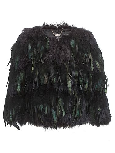 "<p>Crop feather coat, £150 </p> <p><a href=""http://www.cosmopolitan.co.uk/beauty-hair/news/beauty-news/kardashian-sisters-launch-debut-makeup-collection-khroma-beauty-boldface"" target=""_blank"">KARDASHIAN BEAUTY LINE LAUNCHES IN THE UK</a></p> <p><a href=""http://www.cosmopolitan.co.uk/celebs/celebrity-gossip/kanye-west-kim-kardashian-selfie"" target=""_blank"">KIM KARDASHIAN'S BOOTYLICIOUS POST-BABY SELFIE</a></p> <p><a href=""http://www.cosmopolitan.co.uk/beauty-hair/news/trends/celebrity-beauty/kardashains-beauty-and-body-secret-organic-coconut-oil"" target=""_blank"">THE KARDASHIAN SHARES BEAUTY TIPS</a></p>"