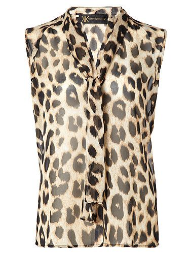 "<p>Leopard pussy bow blouse, £40 </p> <p><a href=""http://www.cosmopolitan.co.uk/beauty-hair/news/beauty-news/kardashian-sisters-launch-debut-makeup-collection-khroma-beauty-boldface"" target=""_blank"">KARDASHIAN BEAUTY LINE LAUNCHES IN THE UK</a></p> <p><a href=""http://www.cosmopolitan.co.uk/celebs/celebrity-gossip/kanye-west-kim-kardashian-selfie"" target=""_blank"">KIM KARDASHIAN'S BOOTYLICIOUS POST-BABY SELFIE</a></p> <p><a href=""http://www.cosmopolitan.co.uk/beauty-hair/news/trends/celebrity-beauty/kardashains-beauty-and-body-secret-organic-coconut-oil"" target=""_blank"">THE KARDASHIAN SHARES BEAUTY TIPS</a></p>"